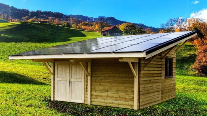Groupe énergie solaire de jardin